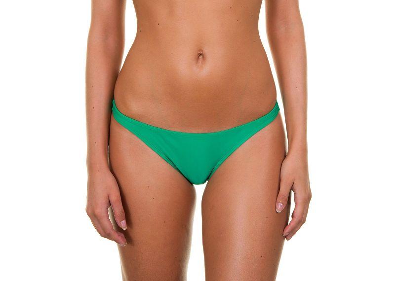 Green fixed bikini bottom - PETERPAN BASIC