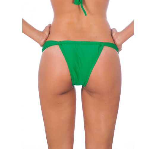 Green adjustable tanga briefs - PETERPAN SUMO