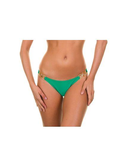 Gröna bikini nedredelar med guldringar - PETERPAN TRIO