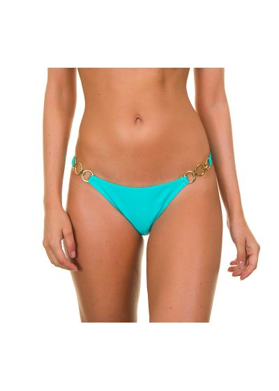 Sky blue bikini bottoms with rings - SKY TRIO