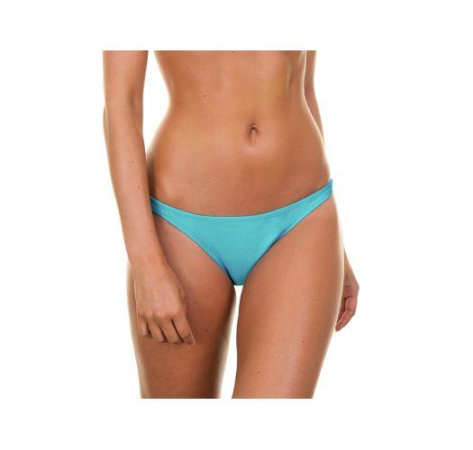 Blue ruched bikini bottoms - TAHITI BASIC