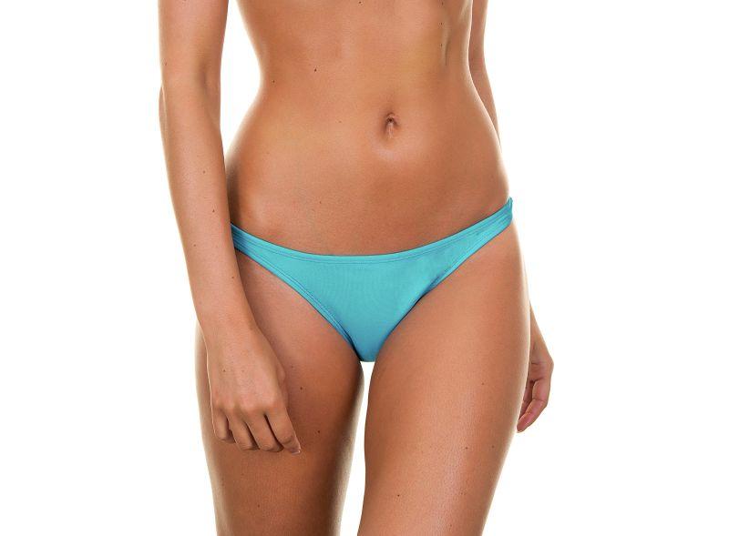 Blå rynkade bikini nedredelar - TAHITI BASIC