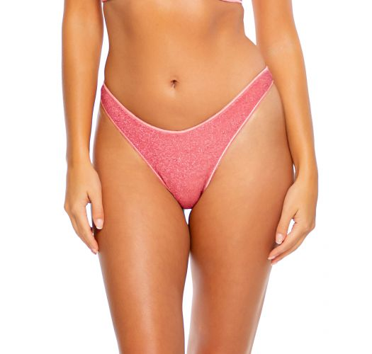 BOTTOM LUXE STITCH PEEK A BOO STARDUST ROSE PINK