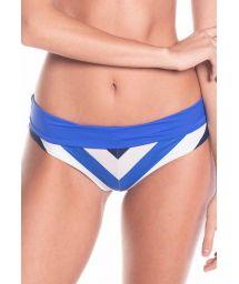 Klein blue & white stripped reversible bikini bottom - BOTTOM AURORA EPOQUE