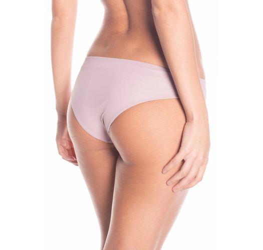 Beige/gemusterte Wende-Bikinihose - BOTTOM MALVA SAND TRACE