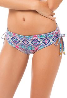 Reversible bikini bottom with ruched sides - BOTTOM MAREA DELILAH