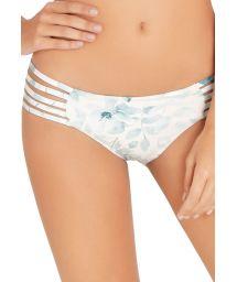 Blommig bikini nedredel med remmar - BOTTOM SAMBA BLOSSOM