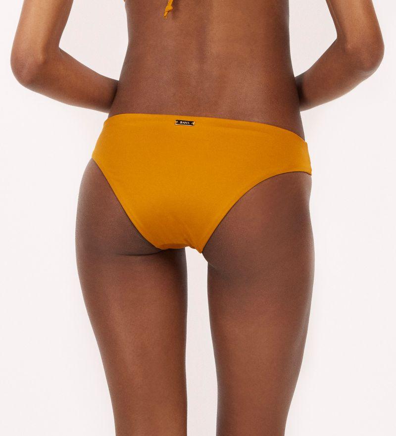 Mustard fixed bikini bottom - BOTTOM SAMBA RIO MELLOW YELLOW