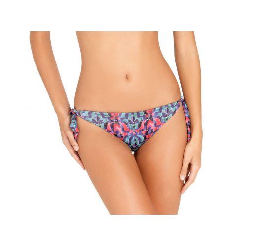 Printed reversible side-tie bikini briefs - BOTTOM TROPICO DECO
