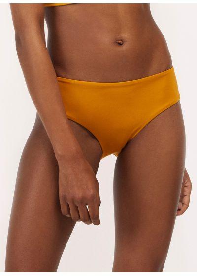 Mustard larger side bikini bottom - BOTTOM TUCAN AURORA MELLOW YELLOW