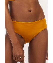 Mustard larger side bikini bottom - BOTTOM TUCAN AURORA MELLOW YELLOW