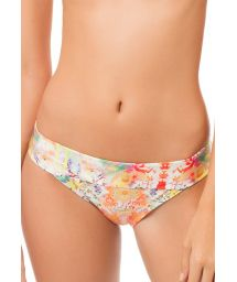 Multicoloured ethnic print bikini bottoms - CALCINHA AURORA BOHEME