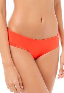 Плавки темно-оранжевого цвета с широкими боками - CALCINHA CUMBIA TANGERINE