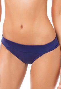Navy blue fixed side bikini bottoms - CALCINHA SIERRA SUPERNOVA