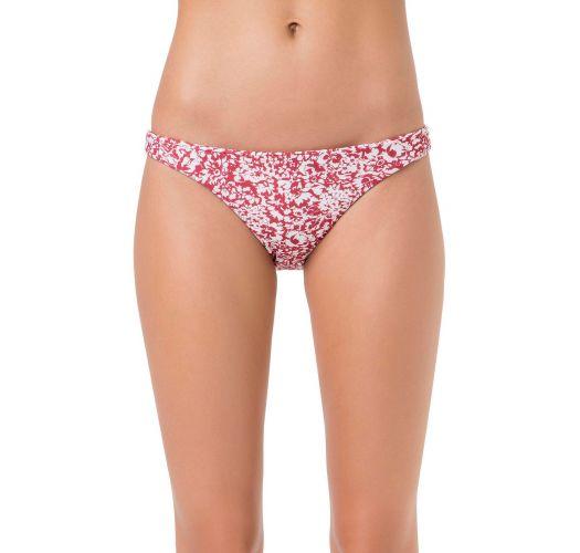 Brazilian bikini bottom in white and red - BOTTOM BABADO SWEETY