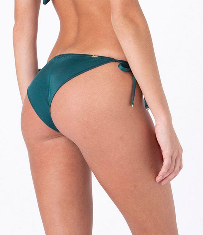 Dark green side-tie bikini bottom - BOTTOM CLASSIC INTIMATES