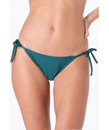 Dark green side-tie bikini bottom - BOTTOM CLASSIC INTIMATES