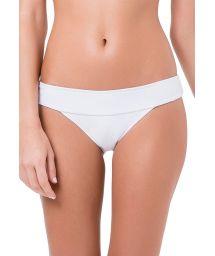 White fixed Brazilian bottoms - BOTTOM MANOELA