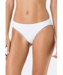 Weiße texturierte feste Bikinihose - BOTTOM MIRACLE ANARRUGA BRANCO