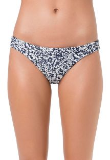 Cheeky bikini bottom in white and black - BOTTOM OMBRO SWEETY