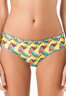 Speels bikinibroekje met golvende randen - CALCINHA BONITO