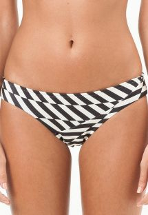 Geometrischgemusterte feste Bikinihose - CALCINHA OKLAHOMA