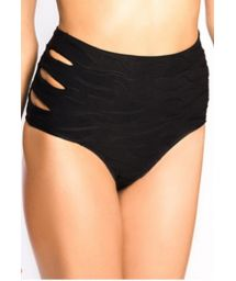 Brazilian bikini bottom - CALCINHA SACHA BLACK