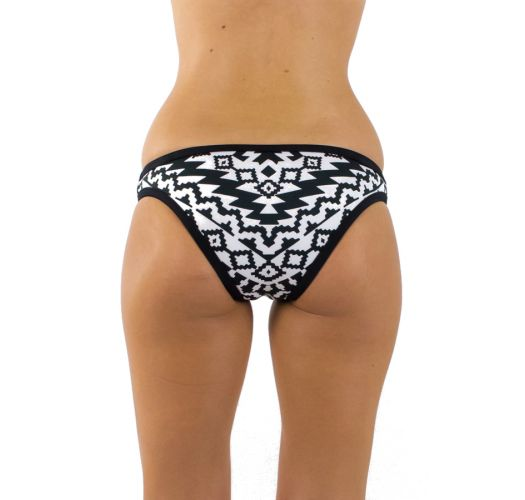 BLACK AND WHITE KASBAH SEAFOLLY