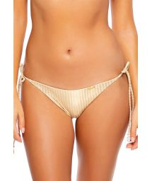 BOTTOM SEAMLESS GOLD DIPPED