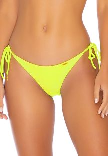 BOTTOM SEAMLESS NEON YELLOW PURA CURIOSIDAD