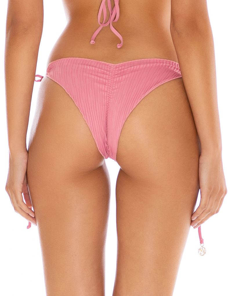 BOTTOM SEAMLESS RUCHED BLUSH RIVER DANCE