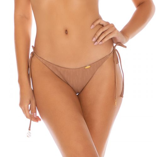 BOTTOM SEAMLESS RUCHED COCONUT RIVER DANCE