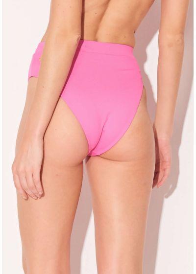 Brazilian high waist pink - BOTTOM ALTO ROSA