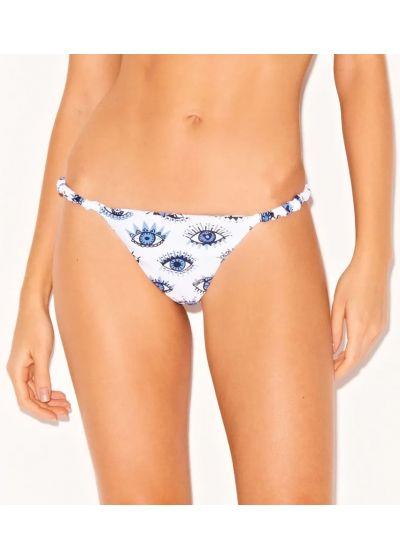 White bikini bottom in blue eyes - BOTTOM BIKINI SEE YOU