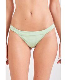 Light green fixed bikini bottom - BOTTOM ELEGÂNCIA VERDE