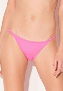 Pink Brazilian bikini bottom with slim sides - BOTTOM FINO ROSA