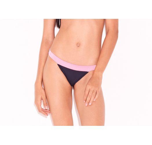 Luxus-Bikinihose mit rosane Taille - BOTTOM SPLASH
