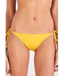 Yellow side-tie bikini bottom - BOTTOM SUN KISS AMARELO