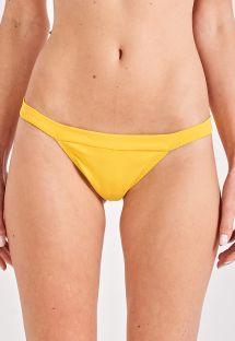 Yellow fixed bikini bottom - BOTTOM TORCIDO AMARELO