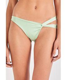 Asymmetric light green bikini bottom - BOTTOM TORCIDO VERDE