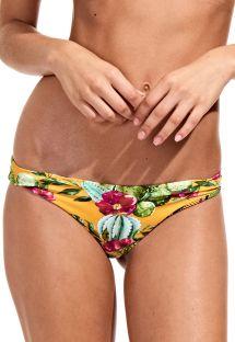 Braguita de bikini brasileña reversible retro - CALCINHA CACTUS SOL