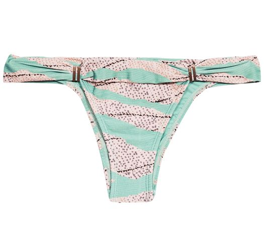 363e1d5036610 Green / beige fixed Brazilian bikini bottom - BOTTOM BIA TUBE SANDSTONE