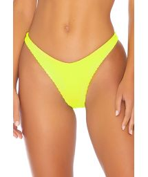 BOTTOM OPEN SEAMLESS NEON YELLOW PURA CURIOSIDAD