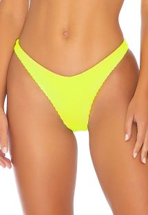 BOTTOM PEEK A BOO NEON YELLOW PURA CURIOSIDAD