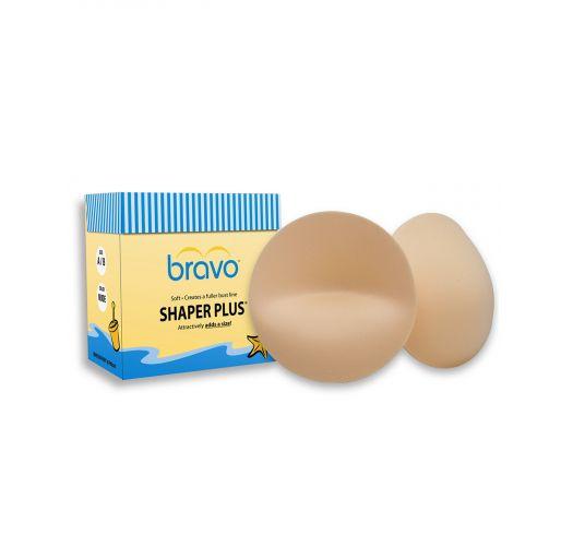 Nude push-up bra pads + size - BRAVO SHAPER PLUS NUDE A/B