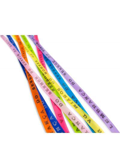 Комплект из 8 разноцветных браслетовBonfim (ленточек желаний) - LOT OF 8 BONFIM MIXED COLOR