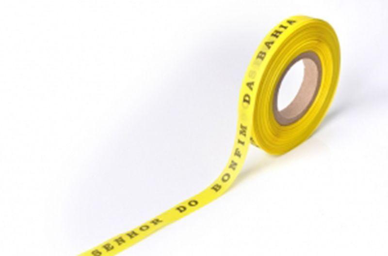 Solgula brasilianska önskeband på rulle - ROLLER BONFIM - AMARELAO
