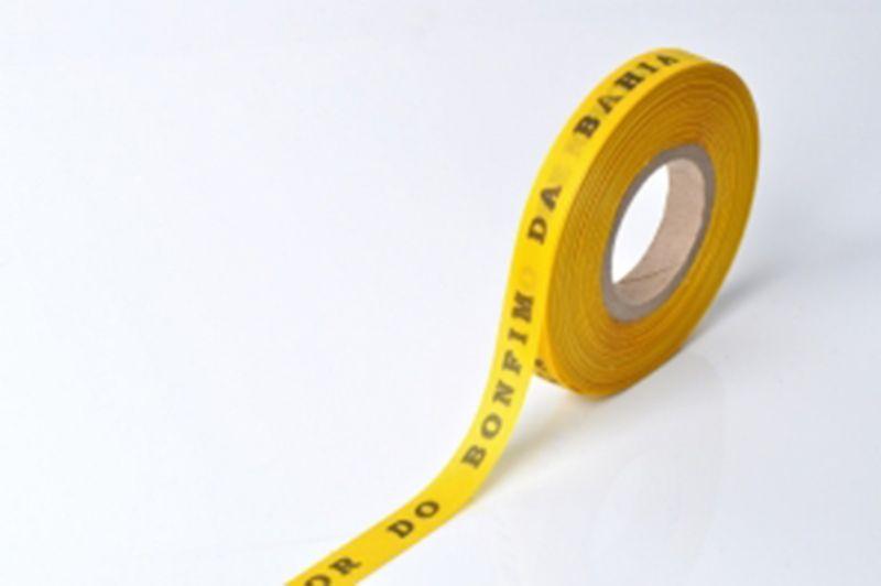 Рулон бразильской лентытемно-желтого цвета - ROLLER BONFIM - AMARELO OURO