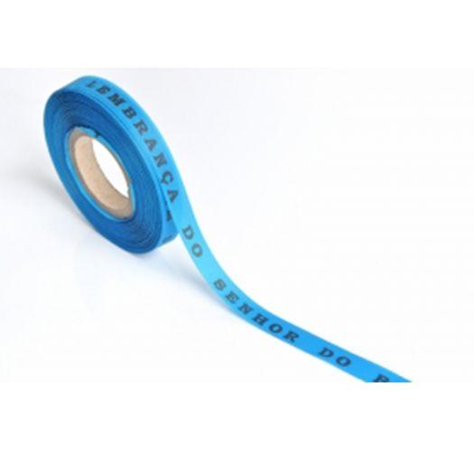 Рулон бразильской ленты синего цвета - ROLLER BONFIM - AZUL