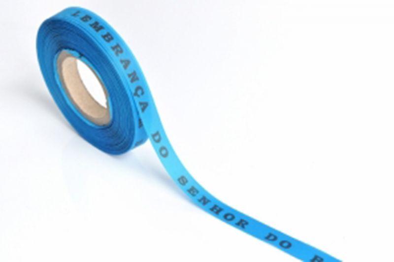 Blåbrasilianska önskeband på rulle - ROLLER BONFIM - AZUL